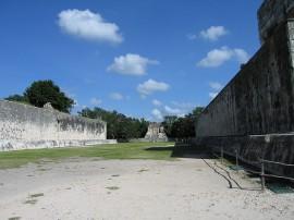 Il Grande Campo a Chichén Itzà, nello Yucatan (Foto Flickr Pet_r)