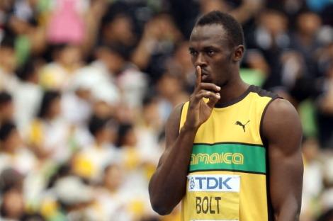 Uno dei re dello sport mondiale, Usain Bolt, agli scorsi Mondiali di atletica di Daegu nel 2011 (Getty Images)