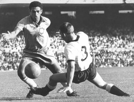 Garrincha, il campione brasiliano scomparso il 20 gennaio del 1983