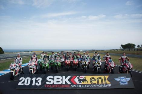 I 19 piloti partecipanti al Mondiale Superbike 2013 (Photo Zac)