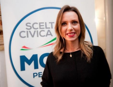 Valentina Vezzali, campionessa della scherma candidata con Monti (Foto Getty)