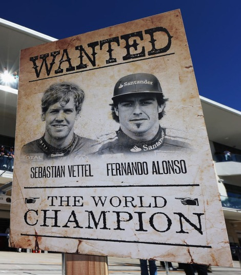 Parte il Mondiale 2013 di F1: sarà ancora sfida a due tra Vettele e Alonso? (Photo by Mark Thompson/Getty Images)
