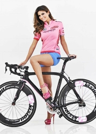 Alessia Ventura, madrina del Giro 2013