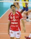 L'ultima fase della carriera di Samuele Papi: eccolo con la maglia della maglia Copra Elior Piacenza (foto Tarantini)