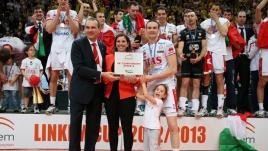 Sintini premiato MVP della finale scudetto (foto Trabalza)