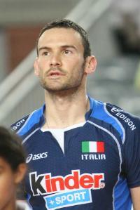 Jack Sintini in maglia azzurra