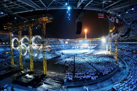 Lo stadio Olimpico in occasione della cerimonia di chiusura (foto Michele d'Ottavio)