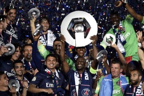 Il PSG festeggia il titolo 2015, quest'anno le celebrazioni sono arrivate addirittura già a marzo!