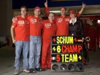 Michael Schumacher festeggia il 6° titolo mondiale: cancellato il record di Fangio