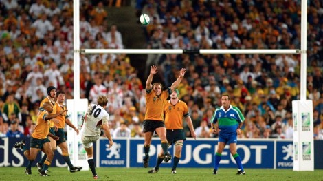 Il drop con cui Jonny Wilkinson, 13 anni fa esatti, regalò la Coppa del Mondo all'Inghilterra